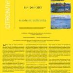 Citronne:Τάσος Μαντζαβίνος & Κώστας Παπανικολάου, ομαδική έκθεση, 2013