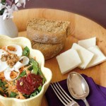 Χιώτικη ντοματοσαλάτα με κρίταμο και Μαστέλο®σαγανάκι