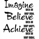 """"""" Imagine with all your mind…"""""""