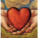 """Μήνυμα αγάπης: """"Και εγένετο Φως μέσα μας, γύρω μας και αγάπη στην καρδιά μας"""""""