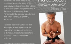 Tantric Hatha Yoga Workshop με τον διεθνούς φήμης δάσκαλο Michael Stewart