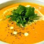 Σούπα καρότο με κάρυ