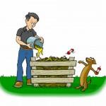 Ήξερες ότι το καλύτερο λίπασμα βρίσκεται στον σκουπιδοτενεκέ σου;