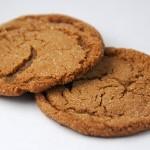 Μπισκότα με τζίντζερ (ginger cookies) χωρίς αλεύρι