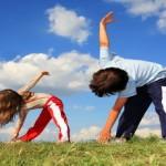 Γυμναστείτε εύκολα και διασκεδαστικά με τα παιδιά σας