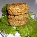 Μπιφτέκια με ρεβίθια και φυστικοβούτυρο