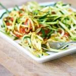 Noodles απο konjac με λαχανικά