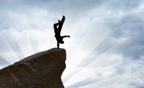 Η μεγαλύτερη ατυχία στη ζωή είναι να μη ρισκάρεις τίποτα