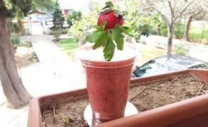 Απολαυστικό vegan σμούθι φράουλας